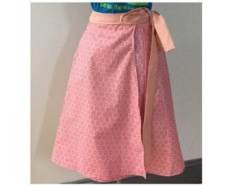 Regina Wrap Skirt Sewing Pattern & Step by Step Tutorial