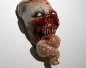 Gastly Griner Zombie Head Pendant