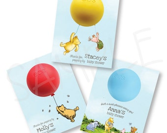 Eos Classic Winnie-the-Pooh Baby Shower Party Favor - Classic Pooh Party Neutral Theme - Eos Lip Balm Favor - Classic Pooh Birthday Party