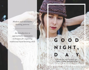 E-Book KNITTING PATTERNS Good Night, Day  >> PDF  >> 70 full colour pages >> 20 patterns