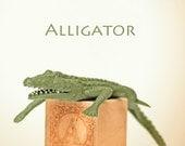 ABC art,alligator art, letter photo, nursery art, nursery decor, childs room decor, child room art, letter art, alphabet photo, alphabet art