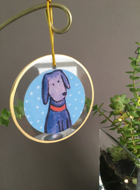Black lab ornament, my big black dog Ornament, Labrador retriever ornament, Black lab Christmas ornament, unique ornament Bernadette artwork