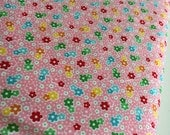 SALE Backyard Roses fabric, Floral in Pink fabric, Discount fabric, Riley Blake Fabrics, Fabric by the yard, Choose your cut