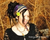 Hippie Headband, Festival Clothing, Headband, Dreadband, Dread Wrap, Dreadlocks, Intergalactic Apparel