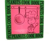 PEANUTS COOK BOOK Hardback Cookbook Charles M. Schultz Cartoons Recipes by June Dutton