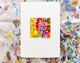 Mini abstract no. 2, 5 x 7 archival art print