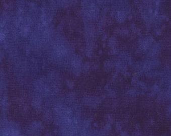 Purple Splash Blender Lapis Blank Quilting Fabric 1 yard
