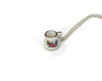 Milk Jug Necklace, Miniature milk jug necklace, Afternoon Tea