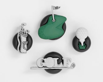 Golfer Magnets. For Outdoor Adventure Seeking Men or Women. Father's Day Gift for Dad. Kitchen Decoration. Back to School Teacher Gift Idea