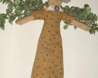 Primitive Sara Garden Angel Doll OOAK