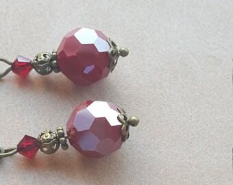 Red Lantern Earrings