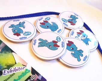 """TL;DR """"Teal Deer"""" Button Pins - 6 Styles!"""