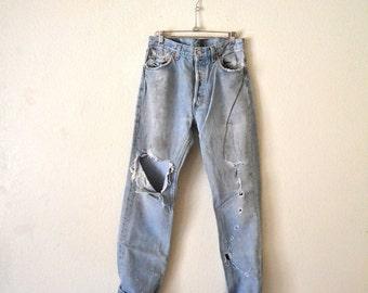 Levis 501 Jeans 33x32