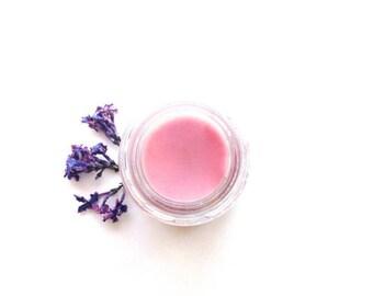 Lilac Lip Balm . plant makeup