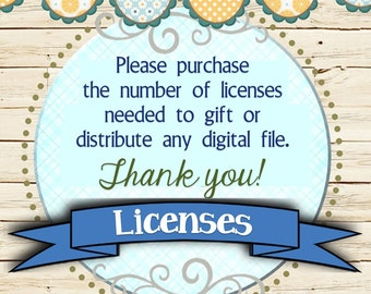 Group or Gift Use License