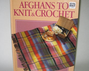 Afghans to Knit & Crochet Better Homes and Gardens 1986 Hardback