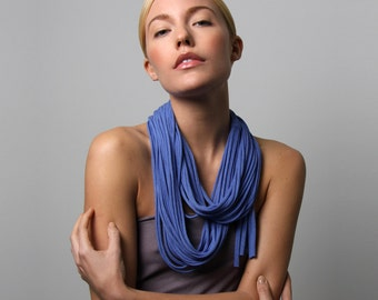 Blue Scarf, Christmas Gift, Gifts for Women, For Girlfriend, Gift for Mom, Womens Gifts, Girlfriend Gifts, Mom Gifts, Blue Scarf