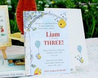 Printable Birthday Stationery Paper ~ Honeypot party etsy