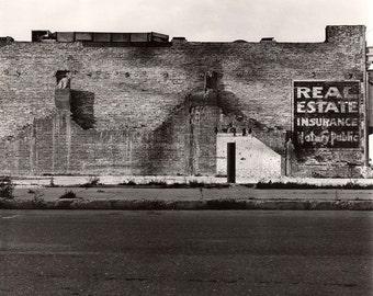 Black and White Photograph, Architecture Wall Art, Industrial Art Print, Urban Art Print, Apartment Wall Art
