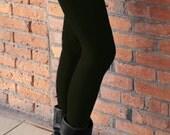Bamboo Fleece Leggings - Black