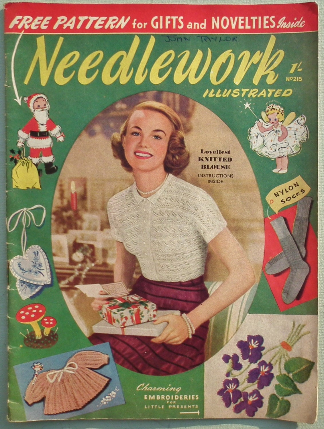 Knitting Magazines List : Vintage s knitting sewing magazine needlework
