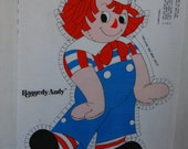 1978 Raggedy Andy Sew and Stuff Doll Panel