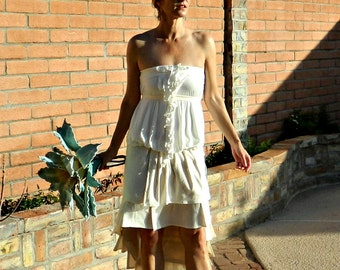 Bride Clothing-Bridal Top-Bride Clothes-Wedding Top-Sophie Top Separates-Hand Cut Folded Romantic Ruffles-Chic Modern Bridal-Many Body Sizes