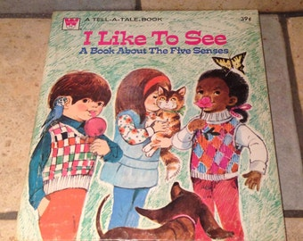 1973 I Like To See Tell a Tale Book by Whitman