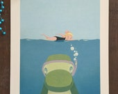 Sea Rex Limited Edition Signed Print