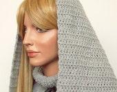 Crochet Hooded Cowl PATTERN, Alatariel Cúthalion, PDF DOWNLOAD