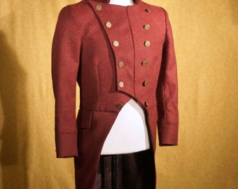 Custom Tweed Military Tailcoats