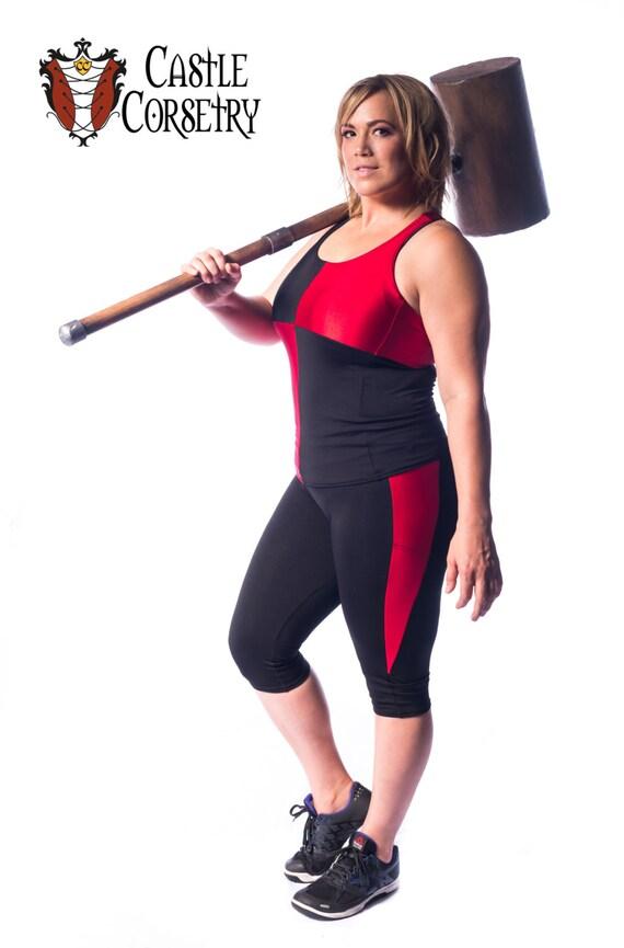 Harlequin Workout Pants