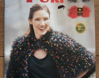2004 crochet patterns crochet with fun fur 19 projects