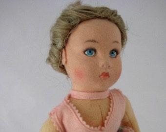 "Vintage 1986 LENCI * Moira * Blonde Ballerina Girl Doll *13"" Tall * #914235"