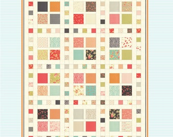 Square Dance PAPER pattern 0709