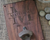 Personalized Wood Bottle Opener Gift For Him 21st Birthday Wedding Gift Groomsmen Gift SHIPS QUICK (item number NVMHDAY0265)