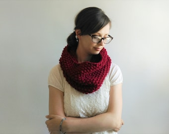 Chunky Knit Cowl - More colors available