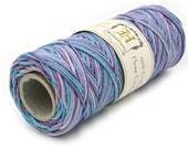 Pastel Hemp Cord, 205 Feet, Multi Colored Hemp,   Jewelry Cord, Hemp Twine, Macrame Cord  -T45