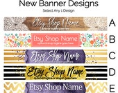 Etsy Shop Banners - Etsy Banners - Etsy Branding Graphics - Etsy Store Graphics Spring Etsy Banner New Etsy Shop Banner Designs Selection 6