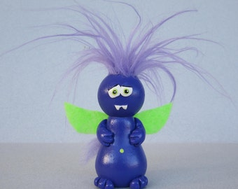 Purple People Eater Ornament
