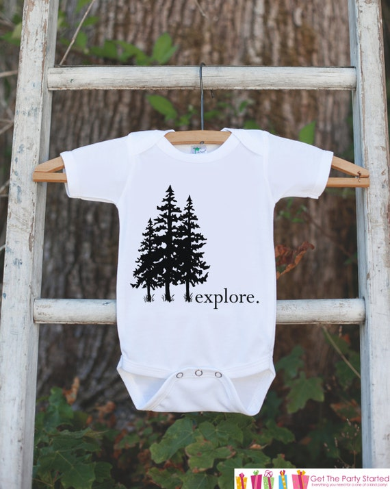 Items similar to Kid s Explore Outfit White Shirt or