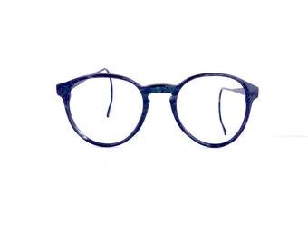 Eyeglass Frames Blue Moon : Vintage eyeglasses Etsy