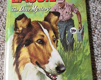 1966 Whitman Big Tell-a-tale Lassie And The Deer Mystery