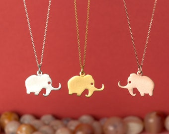 Mammoth Necklace Elephant Pendant Ice Age   pendant sterling silver gift kids Birthday Jewelry Woolly Mammoth Birthday gift for her