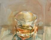 The Vessel II study, Original Watercolor Painting