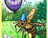 Honey Bee Birthday Card