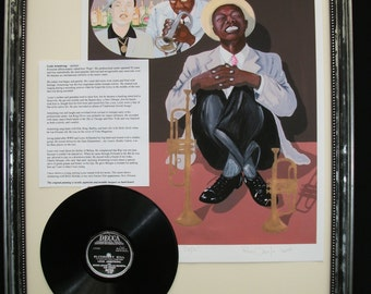 LOUIS (SATCHMO) ARMSTRONG aka Pops