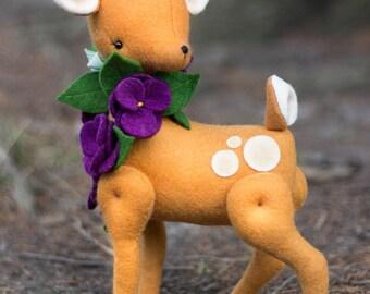 Violet Deer Pattern