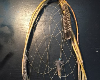 Dreamcatcher TRADITIONAL native american made 19 inch