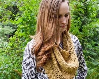 CROCHET PATTERN - Adna Crochet Cowl Pattern